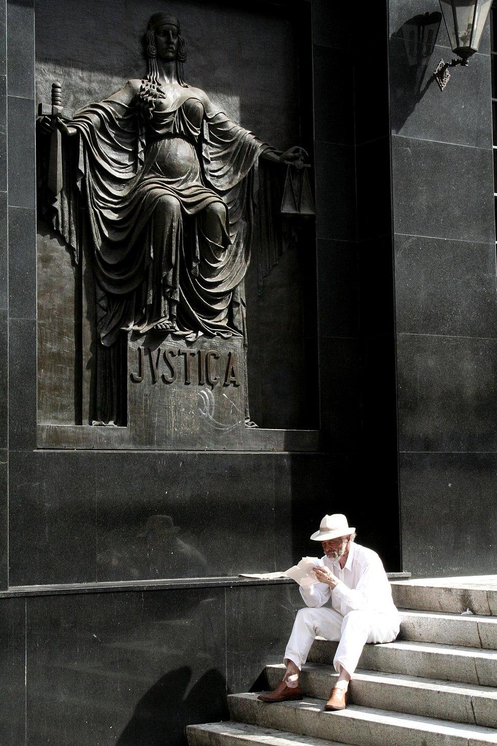 Campinas, detalhe do Palácio da Justiça