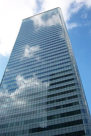 HSBC - 8 Canada Square, the world headquarters of HSBC in Canary Wharf, London