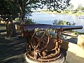 Cannon on the bank of the Mary River in Queens Park. - panoramio.jpg