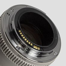 The Mount Of A Lens Compatible With An Extender Ef