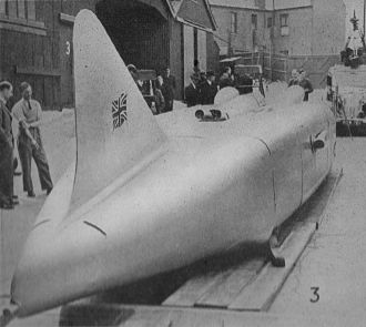 Bean Cars - George Eyston's Thunderbolt car