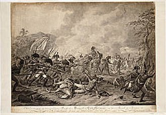 Anglo-Russian invasion of Holland - Capture of Lieutenant-General Hermann at Bergen