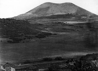 Capulin Volcano National Monument - Image: Capulin 1916 lwt 01401