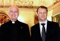 Cardinal John Patrick Foley and Yaroslav Ternovskiy.jpg