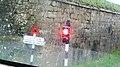 Carisbrooke Castle old traffic lights.JPG