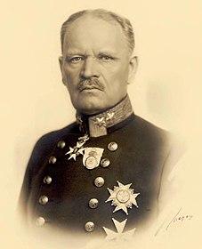 Carl Gustaf Hammarskjöld Swedish military officer and politician
