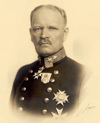 Minister of Defence (Sweden) - Image: Carl Gustaf Hammarskjöld