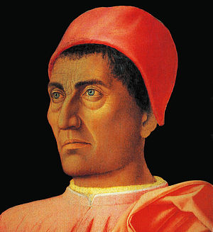 Carlo de' Medici - Portrait of Carlo de' Medici (1466) by Andrea Mantegna