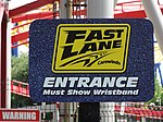Carowinds Fast Lane sign.jpg
