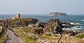 Carrickabraghy Castle and Glashedy Island 2014 09 12.jpg