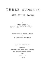 Lewis Carroll: Three Sunsets and Other Poems