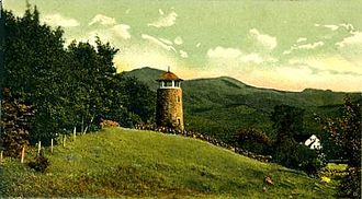 Jefferson, New Hampshire - Carter's Tower in 1906