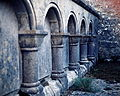 Carved stonework, Clonmacnoise.jpg