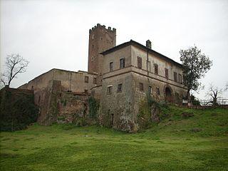 Tor Cervara Zona of Rome in Latium, Italy