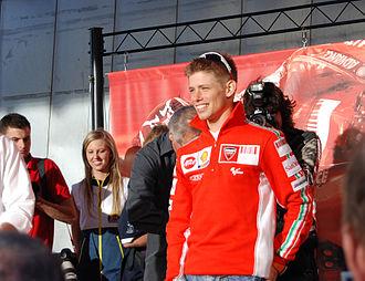 2007 Grand Prix motorcycle racing season - Image: Casey Stoner Phillip Island 2007