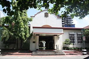 Casino Español de Manila - The facade of the Casino Español de Manila
