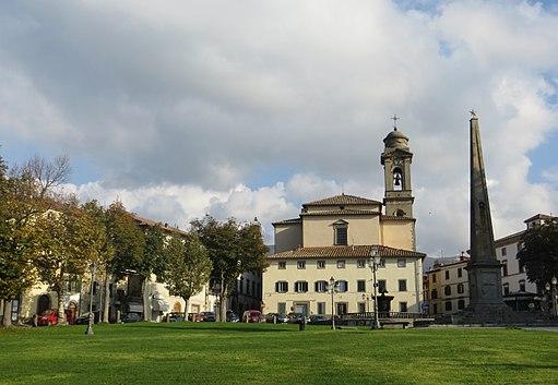 Castel del Piano - Piazza Garibaldi