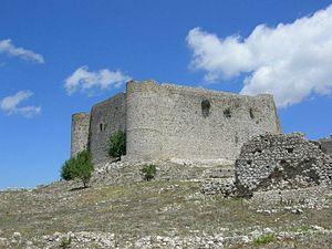 Frankokratia - Image: Castello Chlemoutsi