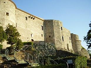 Castello di Vibo Valentia, antica residenza dei Pignatelli di Monteleone