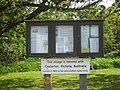Casterton village notice board, Cumbria - geograph.org.uk - 1655158.jpg