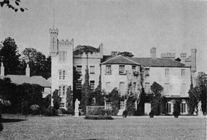 Sir Henry Bellingham, 4th Baronet - Castle Bellingham, County Louth; seat of the Bellinghams since 1660.