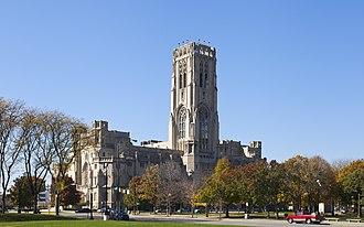 Scottish Rite Cathedral (Indianapolis) - Image: Catedral de tradición escocesa, Indianápolis, Estados Unidos, 2012 10 22, DD 06