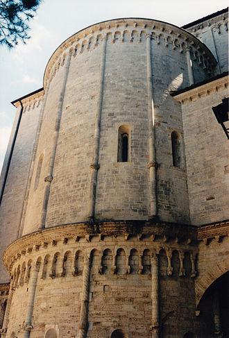 Todi Cathedral - Image: Cathédrale de Todi 2