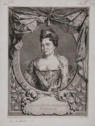 Il falegname di Livonia - Ekaterina I, Empress and Autocrat of all the Russias, originally named Marta Skavronska