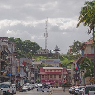Cayenne Capital city of French Guiana