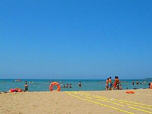 Kandıra - A beach in Cebeci village, Kandıra.
