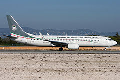 Ceiba Intercontinental Airlines Boeing 737-8FB at Faro Airport.jpg