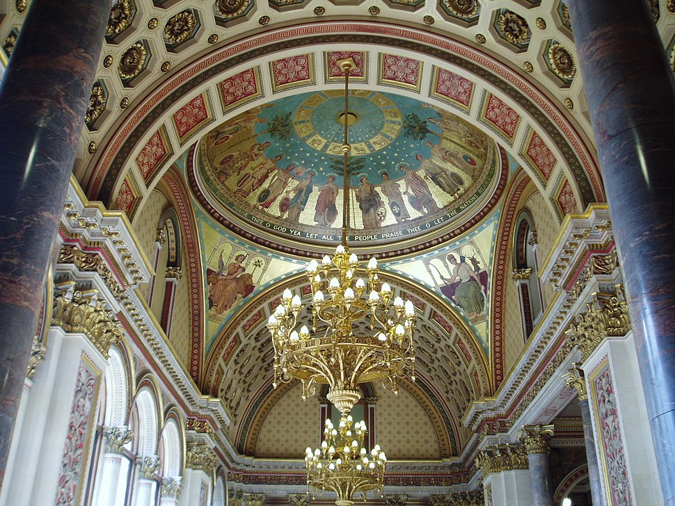 Ceiling above the State Stair, The Foreign Office
