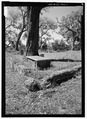 Cemetery, Orange Grove Plantation, Frogmore, Beaufort County, SC HABS SC-865-1.tif