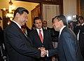Cena de Estado que en honor del Excmo. Sr. Xi Jinping, Presidente de la República Popular China, y de su esposa, Sra. Peng Liyuan (8959197195).jpg
