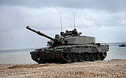 Challenger 2 Tank During Amphibious Demonstration MOD 45152080