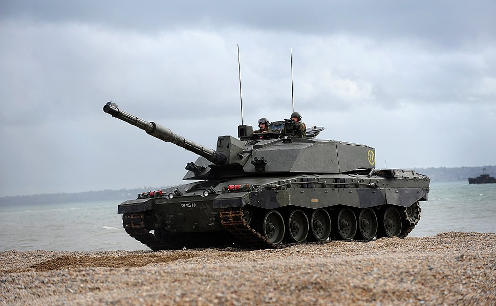 Challenger 2 Tank During Amphibious Demonstration MOD 45152080.jpg