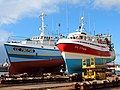 Chalutiers chantier naval Concarneau.JPG