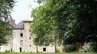 Champagnac-la-Rivière - The château de Brie, in Champagnac