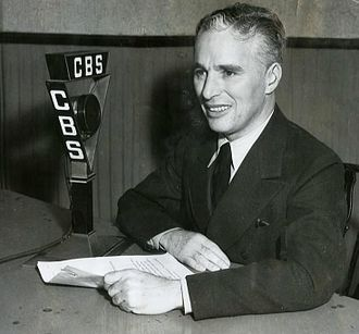 CBS - When Charlie Chaplin finally allowed the world to hear his voice after 20 years of mime, he chose CBS's airwaves to do it on.