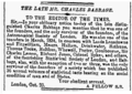Charles Babbage (Letter to the Editor from a fellow S.S, The Times).png