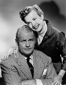 Charles Farrell Gale Storm My Little Margie 1954.JPG