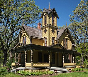 Minnetonka, Minnesota - The Charles H. Burwell House
