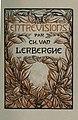 Charles van Lerberghe - Entrevisions, 1923.jpg