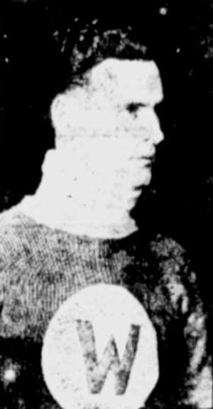 Charlie Reid (ice hockey) - Reid with the Calgary Wanderers in 1919–20.