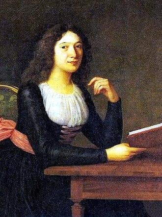 Charlotte von Lengefeld - Portrait by Ludovike Simanowiz