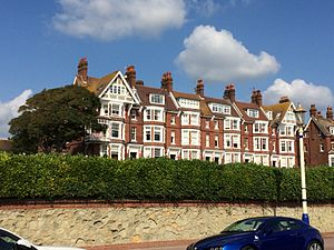 Corporation of the Sons and Friends of the Clergy - Chatsworth Gardens, Eastbourne, incorporating the former Clergy Holiday Homes of the Corporation of the Sons and Friends of the Clergy.