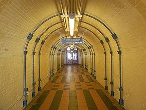 Chester Transportation Center - Image: Chester Transpo Center tunnel