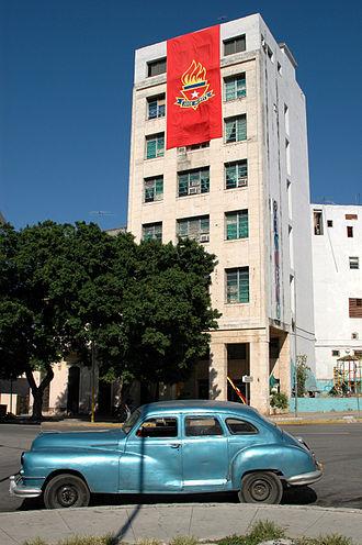José Martí Pioneer Organization - An OPJM building in Havana
