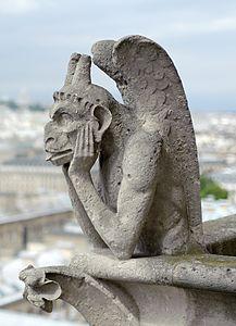 Chimera of Notre-Dame de Paris, 26 April 2014