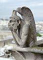 Chimera of Notre-Dame de Paris, 26 April 2014.jpg